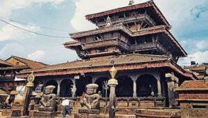 भक्तापुर, नेपाळ येथील दत्तमंदिर:Dattatray Temple, Bhaktapur, Nepal