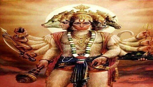 पंचमुखी हनुमान कथा:Story of Panchmukhi Hanuman