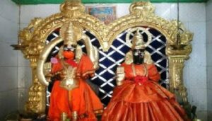 हनुमान आणि त्यांची पत्नी सुवर्चला मंदिर:Temple of Hanuman and his wife Suvarchala